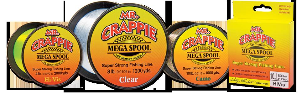 Mr  Crappie® Monofllament Fishing Line